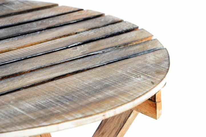 DIVERO – sklopný stůl, opálený