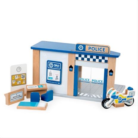 Tidlo Dřevěná policejní stanice