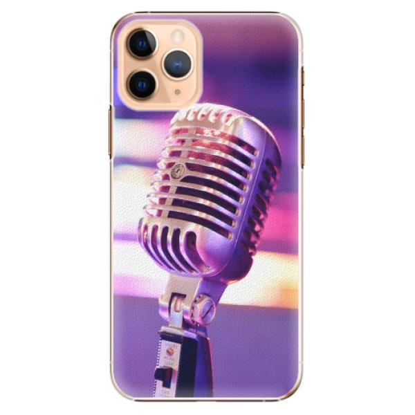 Plastové pouzdro iSaprio - Vintage Microphone - iPhone 11 Pro