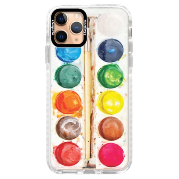 Silikonové pouzdro Bumper iSaprio - Watercolors - iPhone 11 Pro