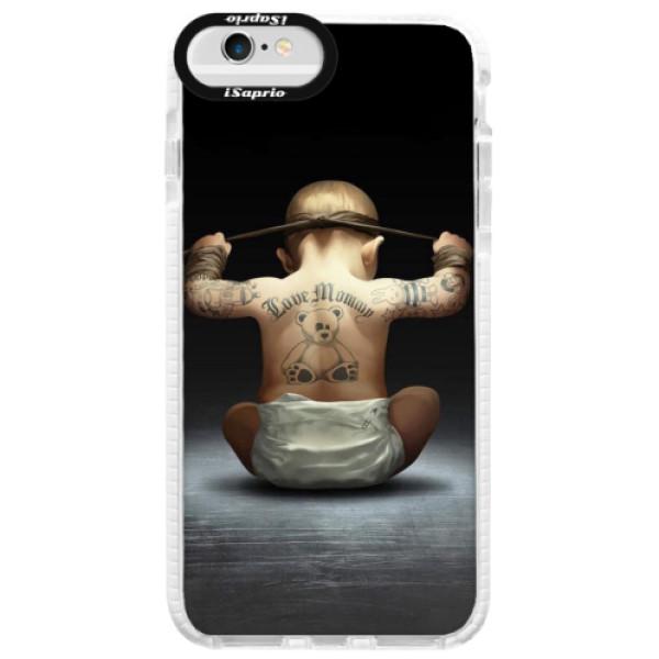 Silikonové pouzdro Bumper iSaprio - Crazy Baby - iPhone 6/6S