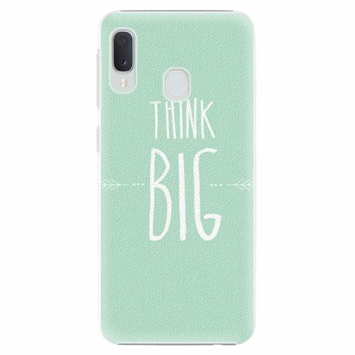 Plastový kryt iSaprio - Think Big - Samsung Galaxy A20e