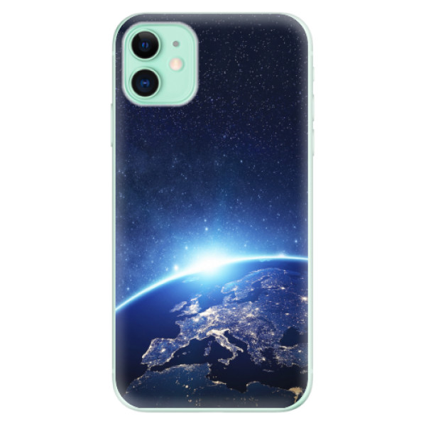 Odolné silikonové pouzdro iSaprio - Earth at Night - iPhone 11