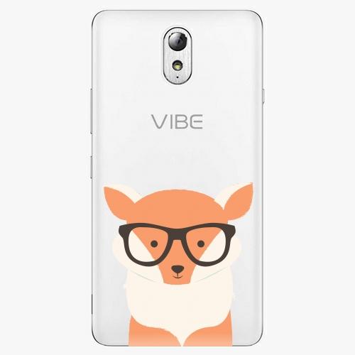 Plastový kryt iSaprio - Orange Fox - Lenovo P1m