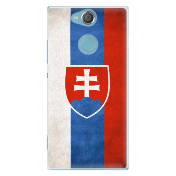 Plastové pouzdro iSaprio - Slovakia Flag - Sony Xperia XA2