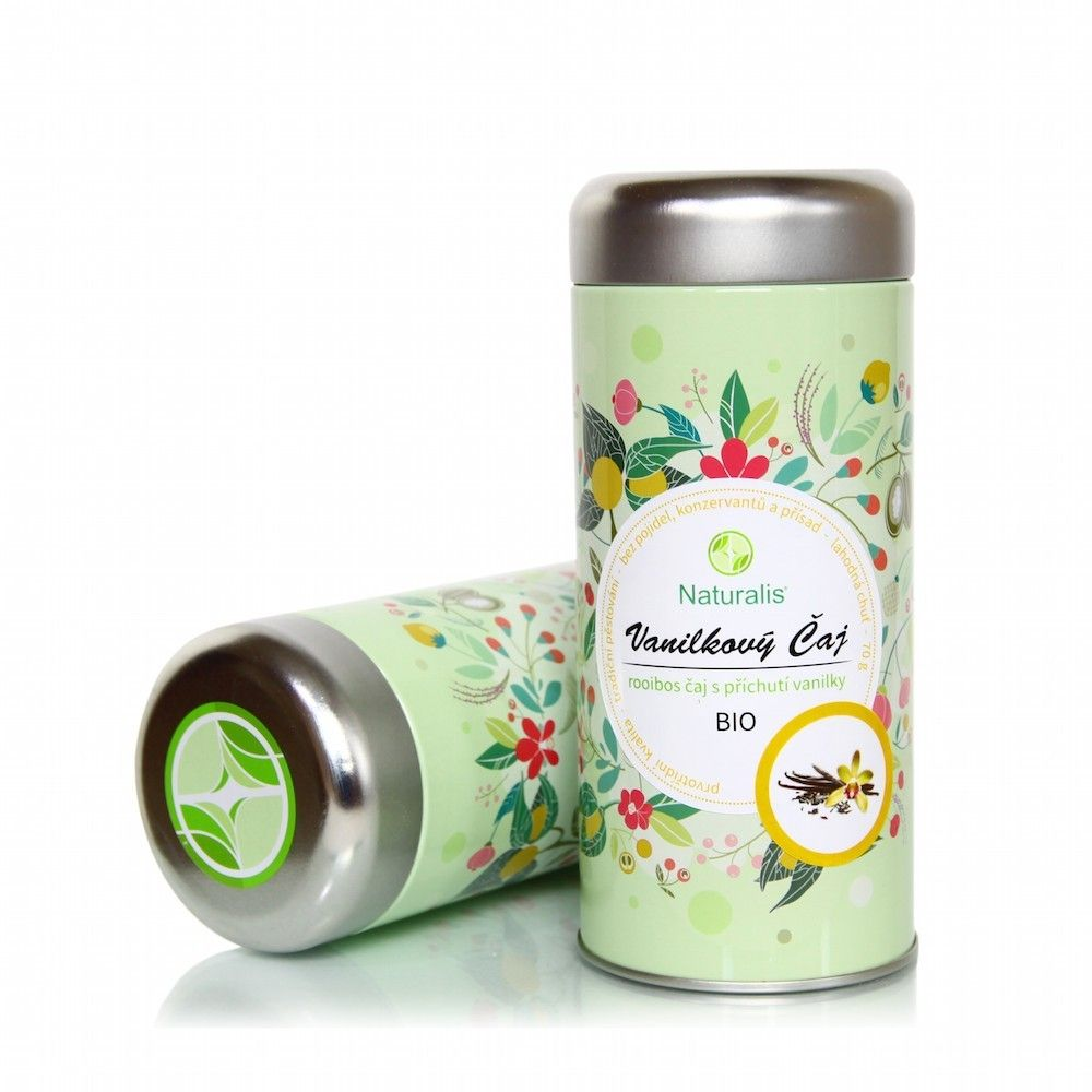 Vanilkový Čaj Naturalis BIO - 70g
