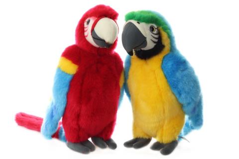 Plyš Papoušek 32 cm