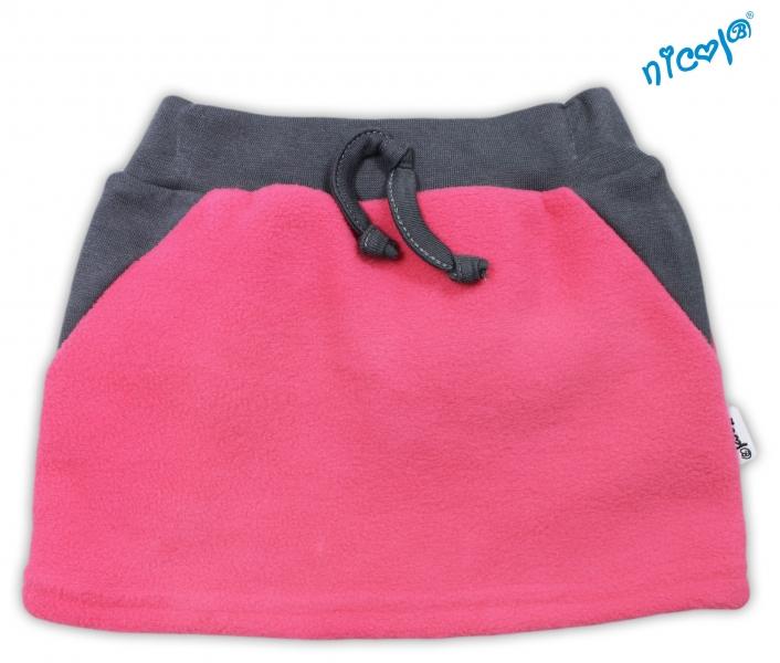 Suknička NICOL - růžová