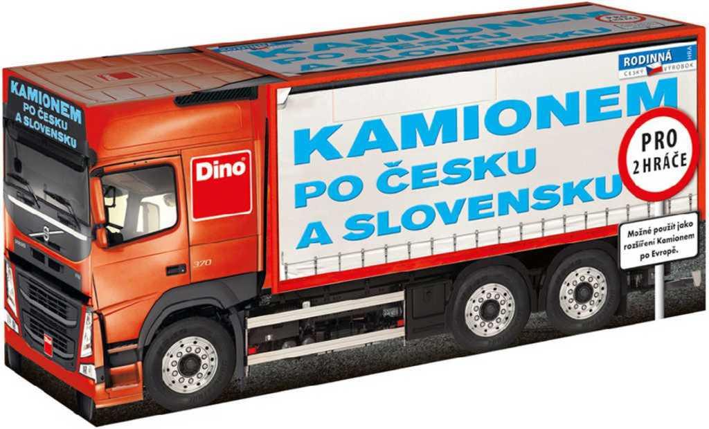 DINO Kamionem po Česku a Slovensku rozšíření *SPOLEČENSKÉ HRY*