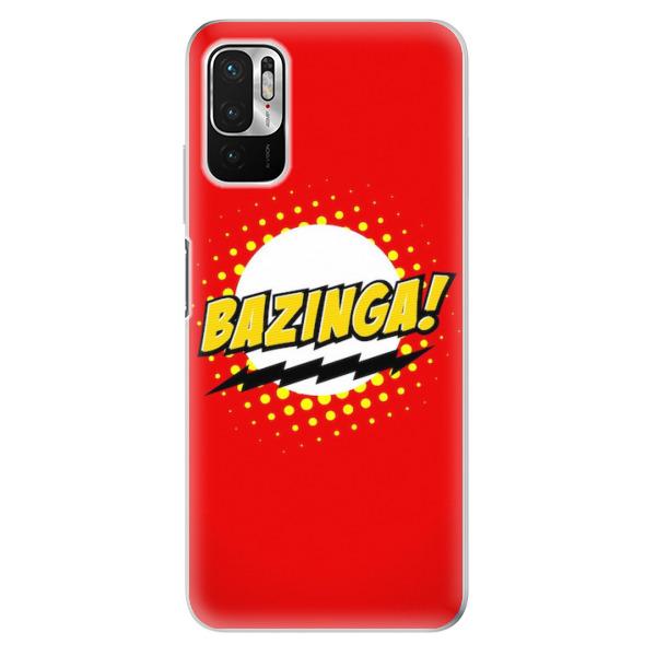 Odolné silikonové pouzdro iSaprio - Bazinga 01 - Xiaomi Redmi Note 10 5G