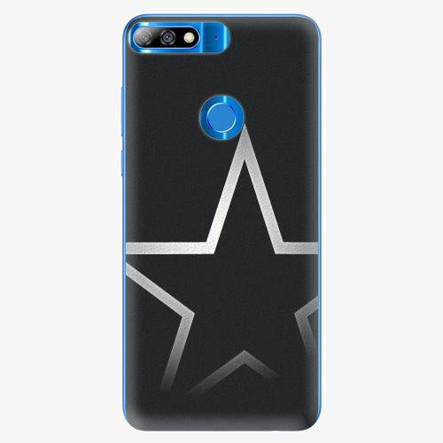 Silikonové pouzdro iSaprio - Star - Huawei Y7 Prime 2018