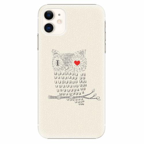 Plastový kryt iSaprio - I Love You 01 - iPhone 11
