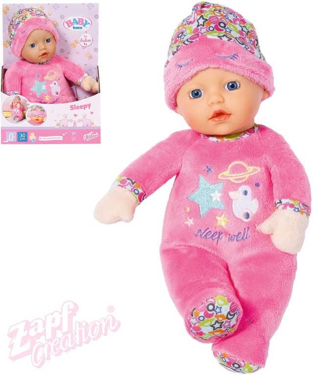 ZAPF BABY BORN Panenka spinkáček 30cm do postýlky pro miminko