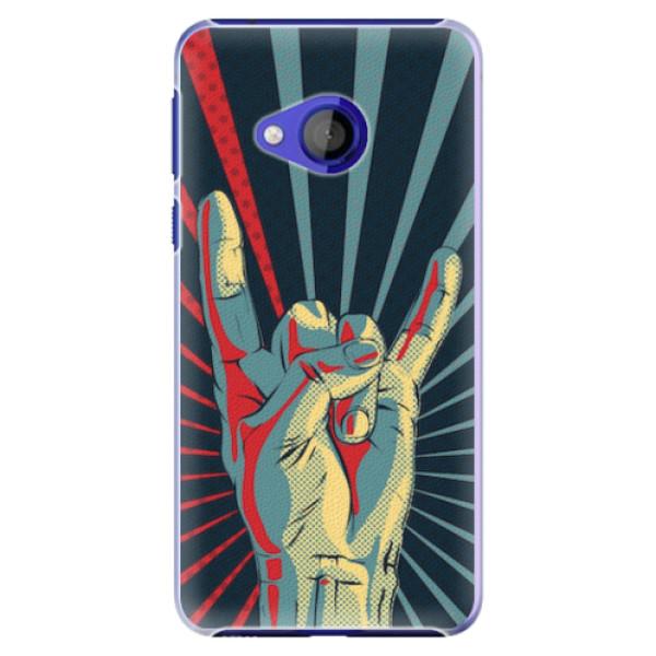 Plastové pouzdro iSaprio - Rock - HTC U Play