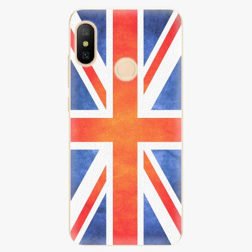 Silikonové pouzdro iSaprio - UK Flag - Xiaomi Mi A2 Lite