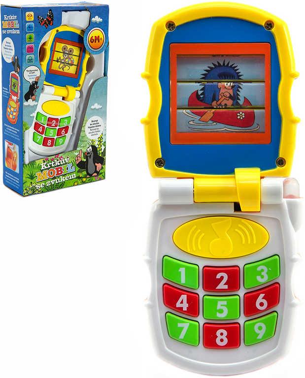 Baby mobil vyklápěcí měnící obrázky Krtek (Krteček) na baterie