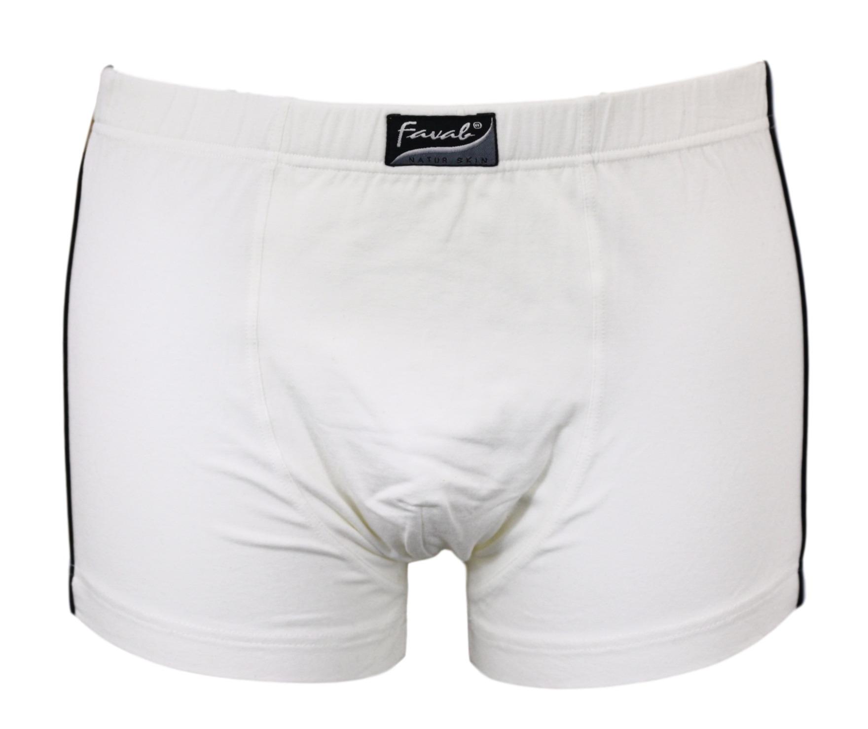Favab boxerky MIX sleva - Bílá/XL