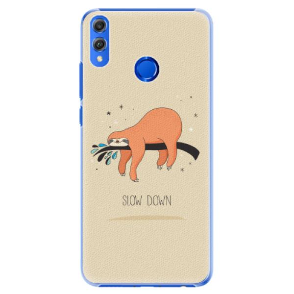 Plastové pouzdro iSaprio - Slow Down - Huawei Honor 8X