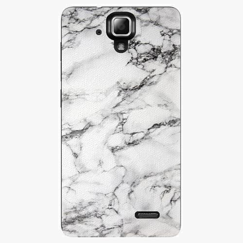 Plastový kryt iSaprio - White Marble 01 - Lenovo A536