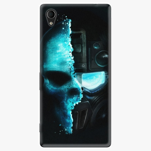 Plastový kryt iSaprio - Roboskull - Sony Xperia M4