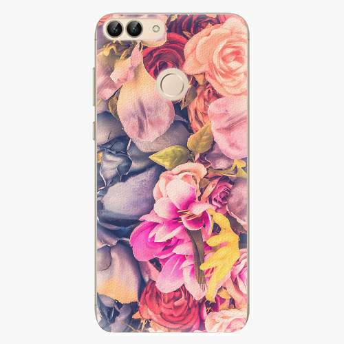 Silikonové pouzdro iSaprio - Beauty Flowers - Huawei P Smart
