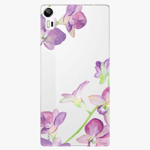 Plastový kryt iSaprio - Purple Orchid - Lenovo Vibe Shot