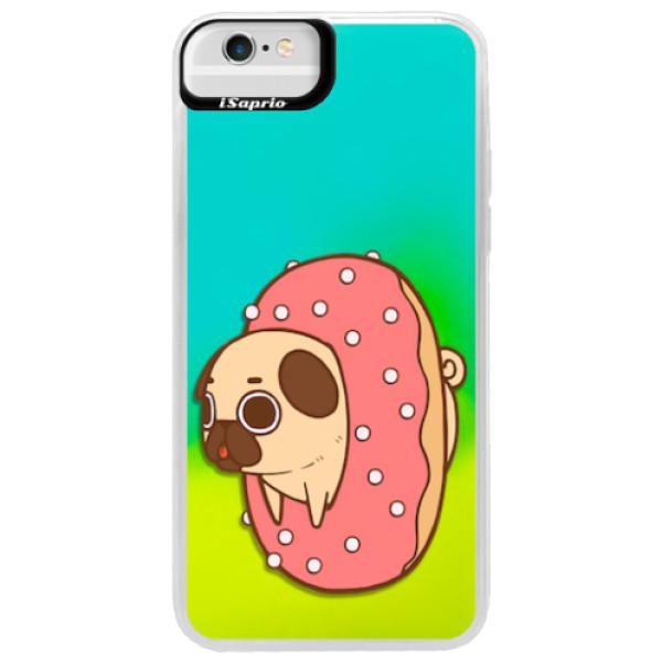 Neonové pouzdro Blue iSaprio - Dog 04 - iPhone 6 Plus/6S Plus