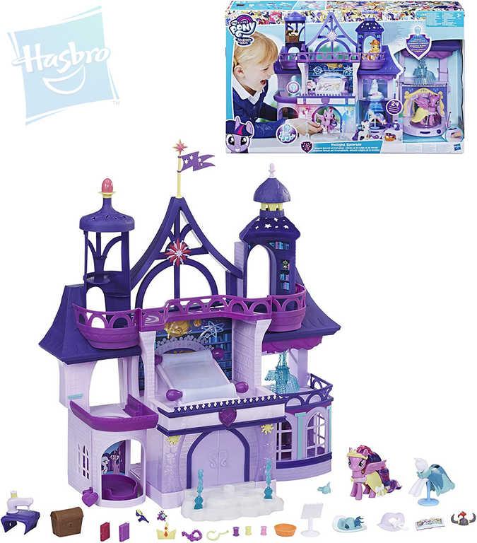 HASBRO MLP Kouzelnická škola My Little Pony set s poníkem na baterie Světlo