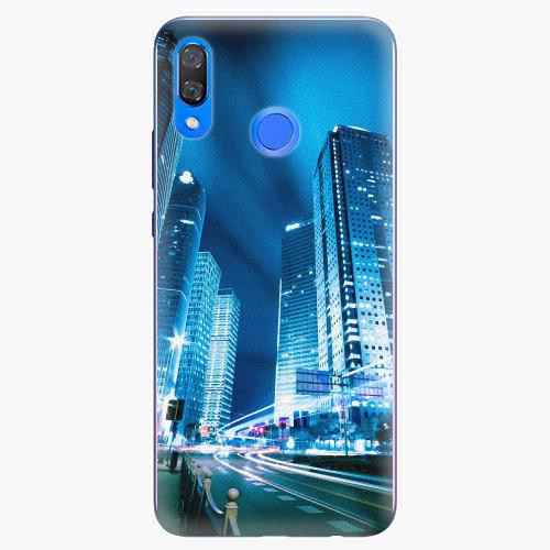 Plastový kryt iSaprio - Night City Blue - Huawei Y9 2019