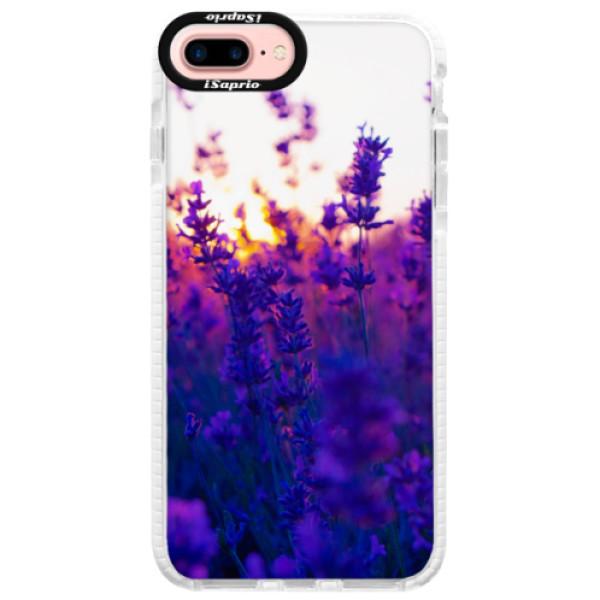 Silikonové pouzdro Bumper iSaprio - Lavender Field - iPhone 7 Plus