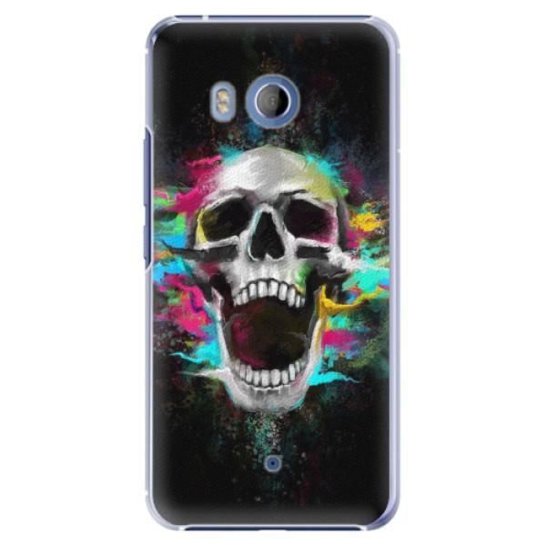 Plastové pouzdro iSaprio - Skull in Colors - HTC U11
