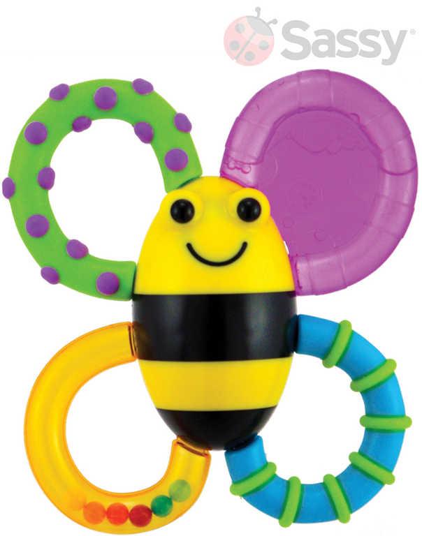 SASSY Baby kousátko chladicí včelka pro miminko