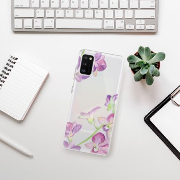 Plastové pouzdro iSaprio - Purple Orchid - Samsung Galaxy A41