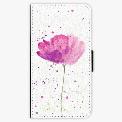 Flipové pouzdro iSaprio - Poppies - Samsung Galaxy J5