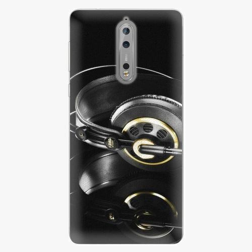 Plastový kryt iSaprio - Headphones 02 - Nokia 8