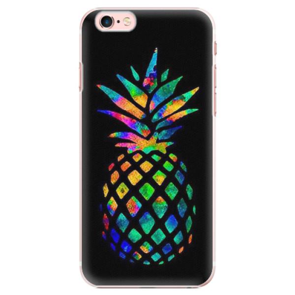 Plastové pouzdro iSaprio - Rainbow Pineapple - iPhone 6 Plus/6S Plus