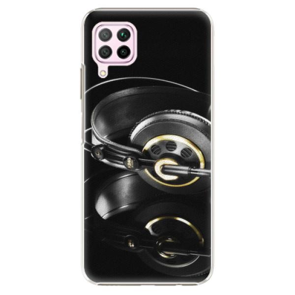 Plastové pouzdro iSaprio - Headphones 02 - Huawei P40 Lite