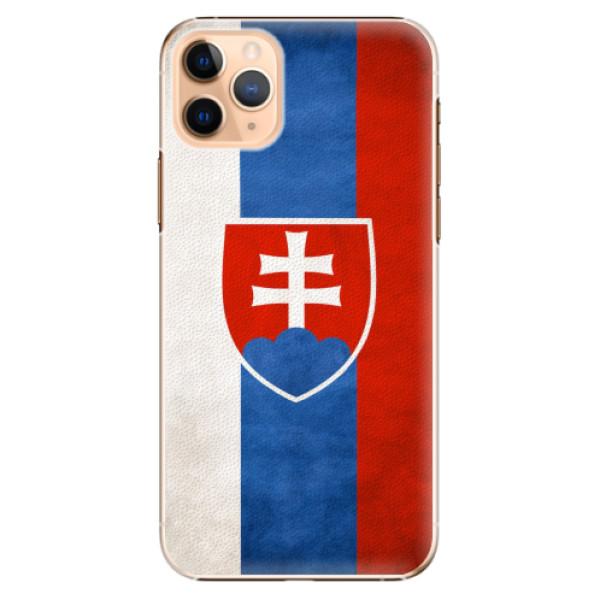 Plastové pouzdro iSaprio - Slovakia Flag - iPhone 11 Pro Max