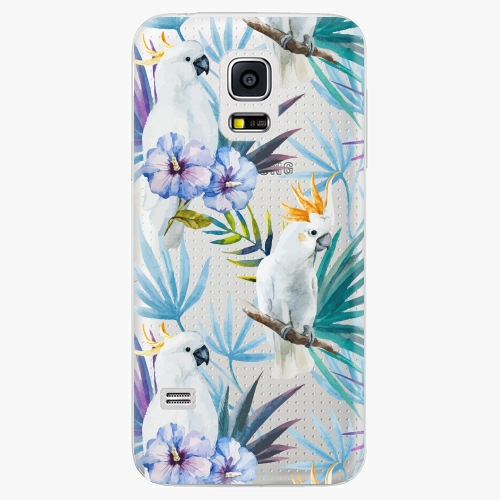 Plastový kryt iSaprio - Parrot Pattern 01 - Samsung Galaxy S5 Mini