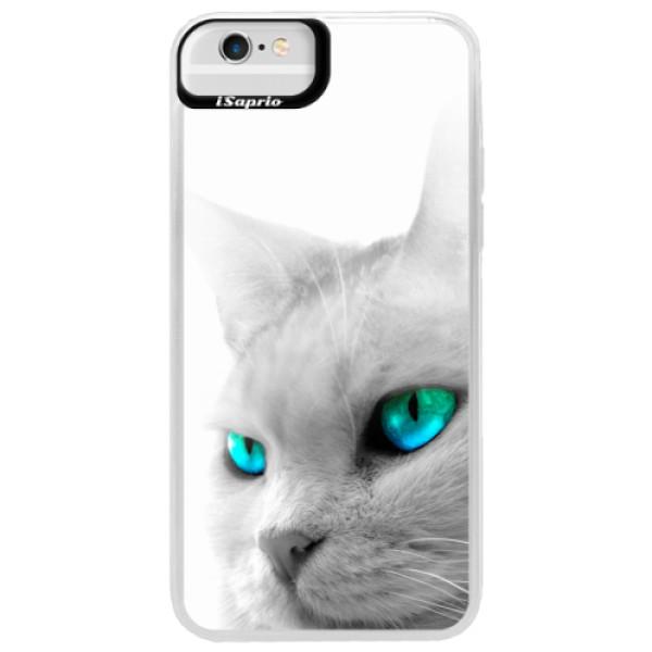 Neonové pouzdro Blue iSaprio - Cats Eyes - iPhone 6 Plus/6S Plus