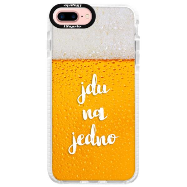 Silikonové pouzdro Bumper iSaprio - Jdu na jedno - iPhone 7 Plus