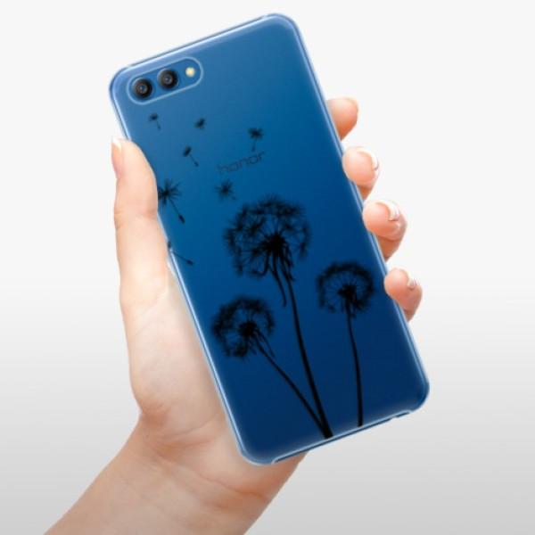 Plastové pouzdro iSaprio - Three Dandelions - black - Huawei Honor View 10