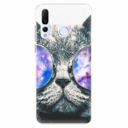 Plastový kryt iSaprio - Galaxy Cat - Huawei Nova 4