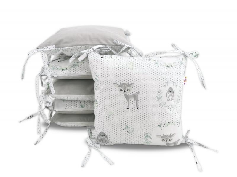 polstarkovy-mantinel-baby-nellys-kolousek-velvet-bavlna-seda