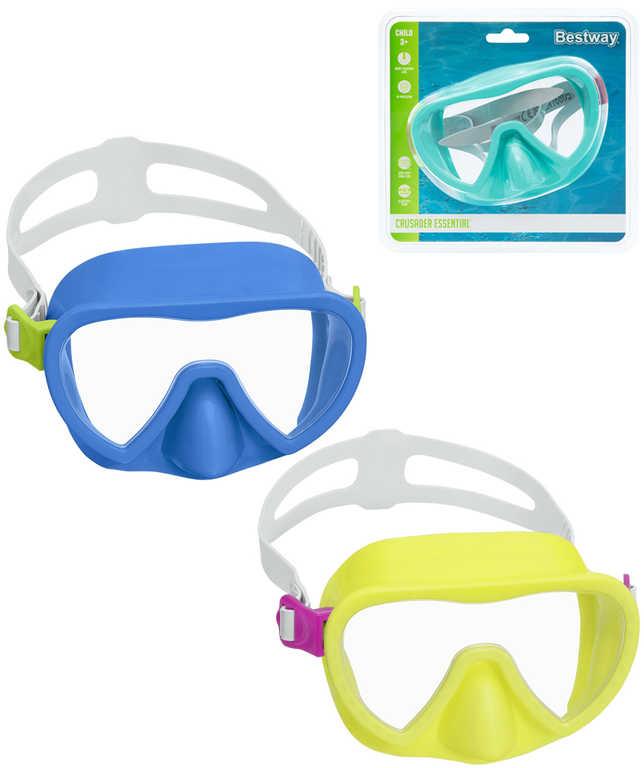 BESTWAY Guppy brýle potapěčské 3+ různé barvy do vody 22057