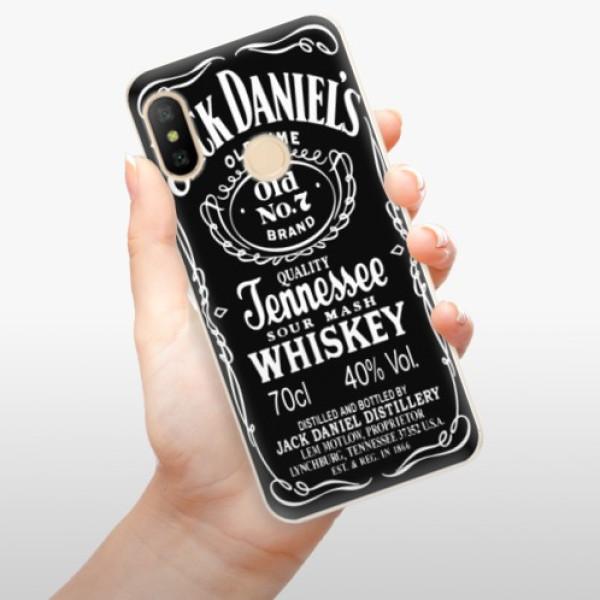 Odolné silikonové pouzdro iSaprio - Jack Daniels - Xiaomi Mi A2 Lite