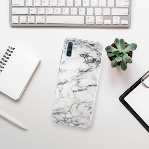 Plastové pouzdro iSaprio - White Marble 01 - Samsung Galaxy A50