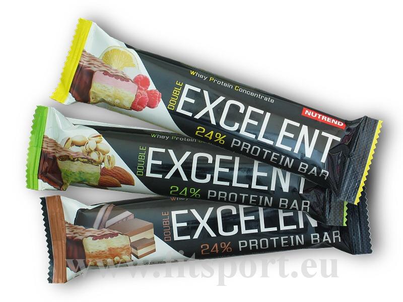 Excelent Protein Bar Double 85g - akce-cokolada-nugat-s-brusinkami