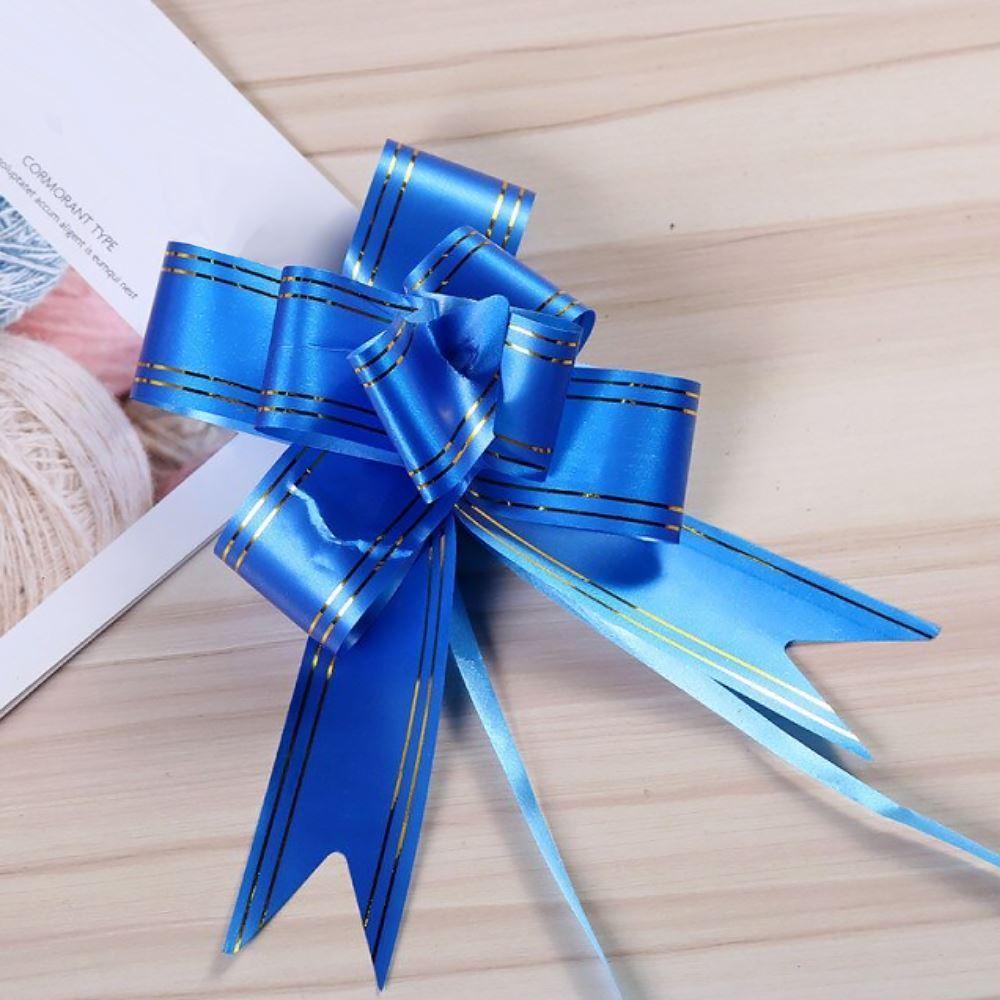 Dárková mašle 10 ks - modrá