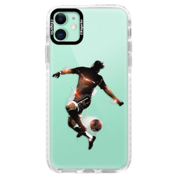 Silikonové pouzdro Bumper iSaprio - Fotball 01 - iPhone 11